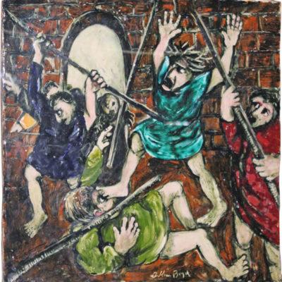 ARTHUR MERRIC BLOOMFIELD BOYD (1920-99), Biblical Scene.